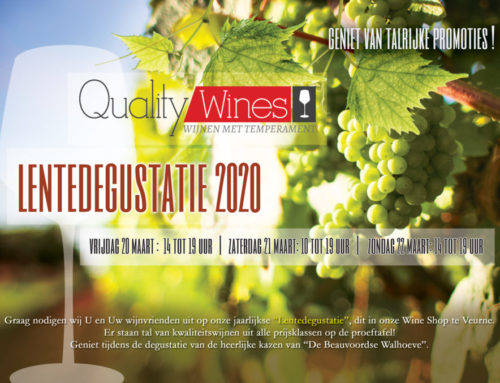 A5 Flyer Quality Wines Veurne