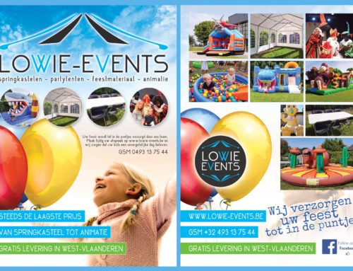 A5 Flyer Lowie Events Veurne
