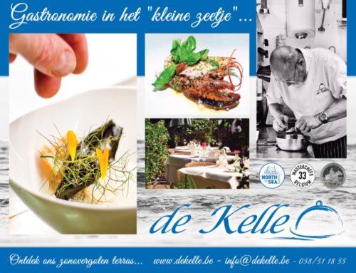 Reclamebord Restaurant De Kelle