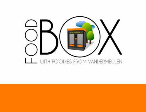 Logo Foodbox with foodies by Vandermeulen