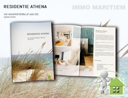 Immo verkoopfolder Residentie Athena