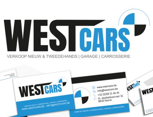 Briefpapier, visitekaartjes, enveloppes Westcars Veurne