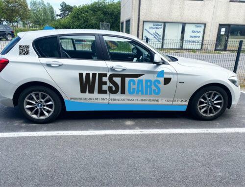 Belettering BMW 1 reeks