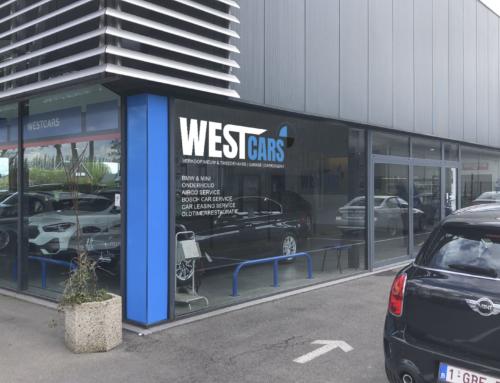 Ontwerp Showroom Westcars Veurne